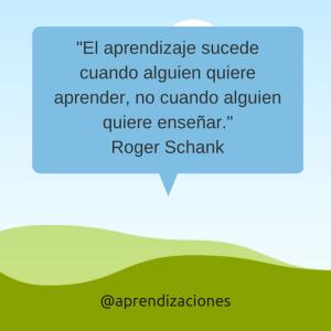 Aprendizaje Roger Schank
